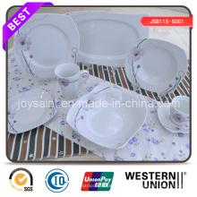 Neuer Entwurf Kundengebundenes farbiges Abziehungs-Abendessen-Set