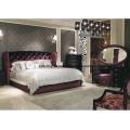 Muebles de dormitorio de madera estilo poste-moderno