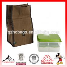Kit de bolsa de almuerzo con aislamiento clásico con contenedores reutilizables (ES-Z382)