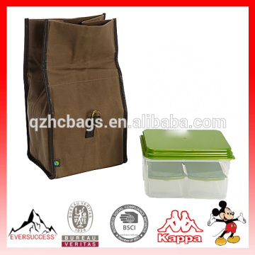 Classic Insulated Lunch Bag Kit with Reusable Containers (ES-Z382)