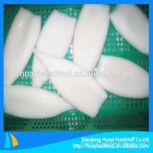 Excelente qualidade trabalhável preço saudável frutos do mar congelados squid tubo