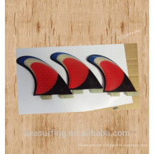 tri color design new geneartion base surfboard G7 fin