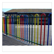 Hot dip galvainzed U type fence