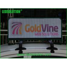 Р5 такси полного цвета Открытый светодиодный дисплей для динамической рекламы