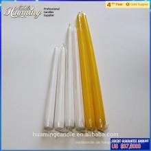 Die beliebteste Großhandel Flameless White Taper Kerze mit hoher Qualität für den Heimgebrauch