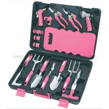 18PCS Garten-Werkzeug-Installationssatz-Rosa (SE2654)