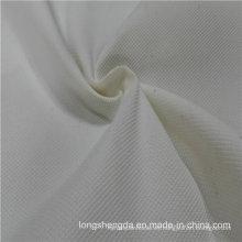 Agua y viento resistente a la ropa deportiva antiestática tejido piel de melocotón 100% Jacquard tela de poliéster tela gris tela gris (E104)