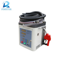 Mini flow meter oil fuel dispenser with meter