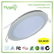 Heißer Verkauf 6w AC85-277V runde quadratische ultra dünne geführte Paneelbeleuchtung