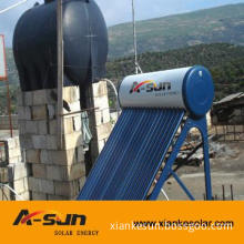 Low or non pressure solar energy  water heater