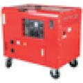 5.5KVA 220V certificado CE gerador diesel silencioso doméstico