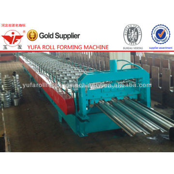 China for Floor Deck Roll Forming Machine, Metal Deck Roll Forming Machine Exporters Floor Deck Forming Machine For Construction Materials export to Italy Manufacturer