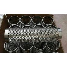 Tubes en métal perforé
