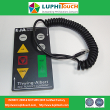 Thwing Albert Testing Machine Interface - Módulo de Operação