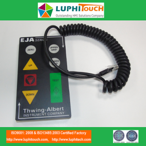 Thwing Albert Testing Machine Schnittstelle bedienen Modul