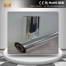 Película de laminação térmica de prata metalizada PET