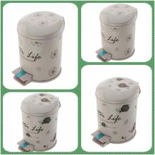 Fußpedal PP Kunststoff Druckabfalleimer (FF-5308)