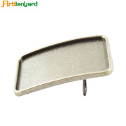 Customed Dress Belt With Silver Plating