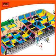 Mich Colorful Huge Trampoline for Amusement Park