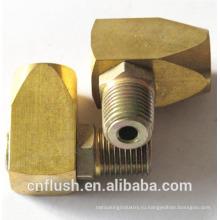 OEM производство горячей ковки металла CNC поворачивая барсс части CNC поворачивая