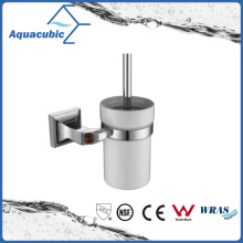 Wall Mount Toilet Brush Holder in Silver (AA9017)