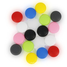 Swirl marks soft silicone thunbstick grip cover for ps4 controlle joystick cover
