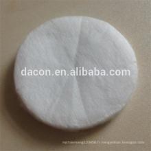 Tapis de coton cosmétique