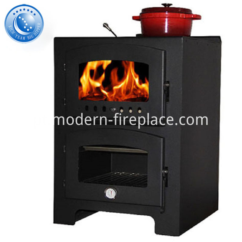 Contemporary Kitchen Wood Burning Stove Factory