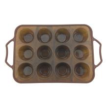 12 tazas de mollete para hornear magdalenas y magdalenas