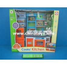 Talheres de plástico para menina e brincar de casinha de brinquedo (051434)