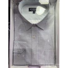 Camisas de hombre teñidas en hilo