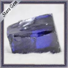 Tanzanite CZ Rough / Raw Material, Zircon Cubic Rough
