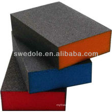 SATC--A/O aluminum oxide sanding sponge block China supplier with high quality and good price