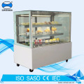 6 Feet cake display refrigerator with LED lighting