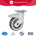 Plaet Braked Tpr Medical Castor Wheel