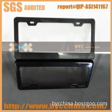 Carbon Fiber Us Shape Car License Plate Frame