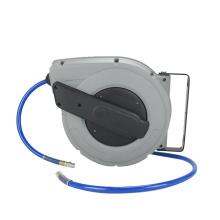 Carrete de manguera de aire retráctil de grado industrial A18 con manguera de aire de 50 pies