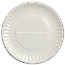 Placa de la comida campestre de la melamina de 10 pulgadas (PT1023)
