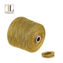 Lã de cashmere de lã de luxo topline para máquina de tricô