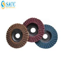 Disco de aleta no tejido de alta calidad de 115 mm con experiencia de exportación de 10 años