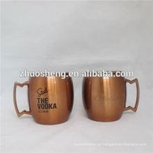xícaras de café de alta qualidade de impressão de logotipo personalizado com tampa
