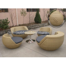 Waterproof Outdoor Rattan Stacking Unique Furniture Cheap