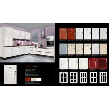 Cheap Kitchen Cabinet with PVC Vacuum
