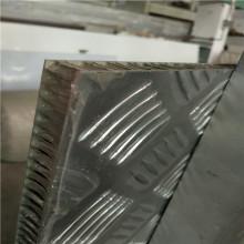 Painéis de favo de mel de alumínio antiderrapante em relevo em superfície para pisos