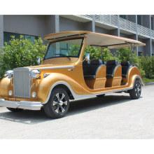 8 Passengers Classic Electric Vintage Car for City Tour