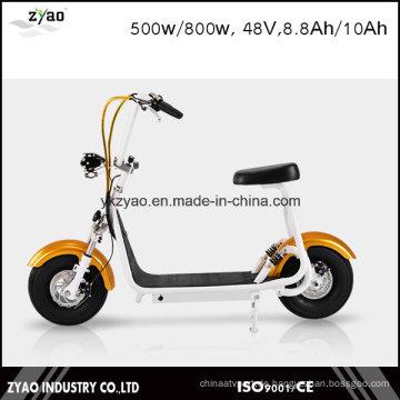 2016 Die meisten modischen Smart Harley Electric Scooter Citycoco Scooter Zwei große Räder für coole Sport Kleine Harley Scooter