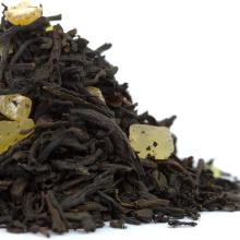 Biodegradável Teabags Tea Fruit Peach chá preto misturado sabor chá