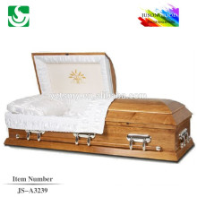 2015 good design solid wooden modern caskets