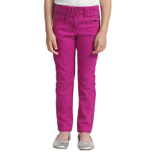 Pantalones de mezclilla bordados en algodón para niños Pantalones de mezclilla bordados en algodón para niños