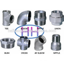 Approved API & ISO Stainless Steel Forged Threaded Pipe Fitting